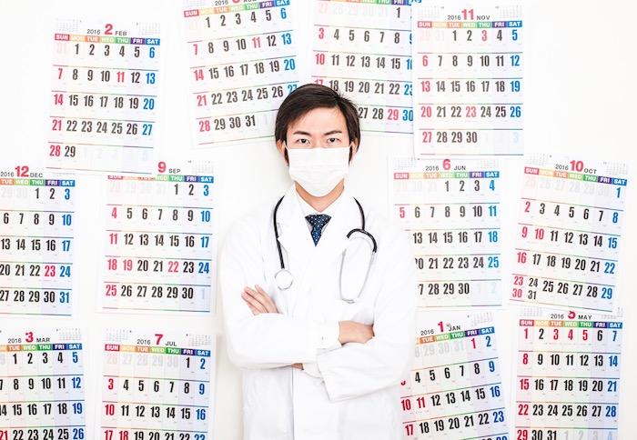 インフルエンザの流行時期